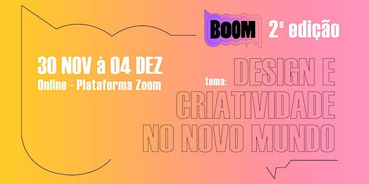 Imagem do evento BOOM - Conferência de Design e Artes Visuais