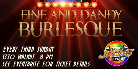 Fine and Dandy Burlesque tickets
