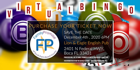 BINGO night! In support of Family Promise of South Palm Beach County tickets