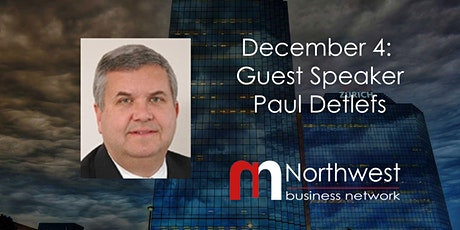 VIRTUAL Northwest Meeting December 4: Guest Speaker Paul Detlefs tickets