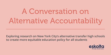A Conversation on Alternative Accountability tickets