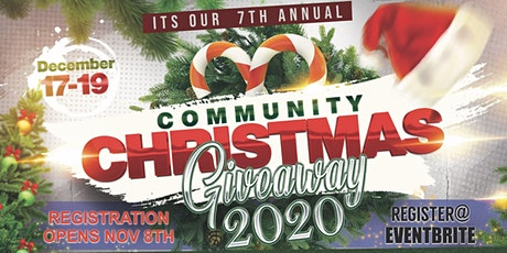 Hope in My Hands, INC. Community Christmas Giveaway 2020 boletos