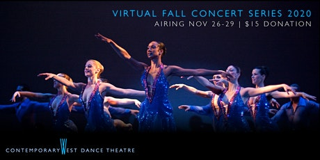 Contemporary West Dance Theatre's Fall Virtual Concert Series tickets