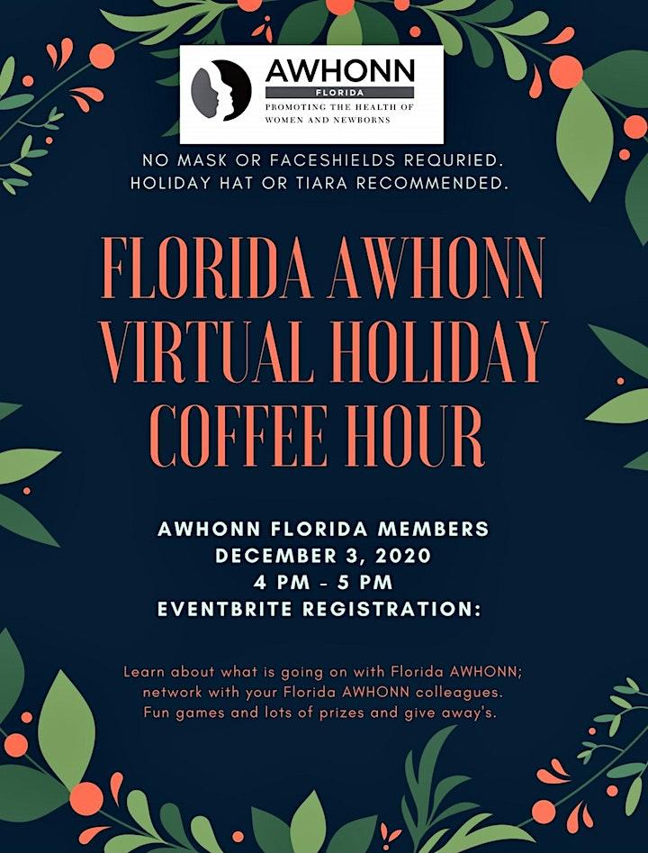 Florida AWHONN Virtual Holiday Coffee Hour image
