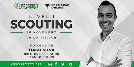 ProScout - Scouting Nível I bilhetes