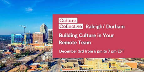 Building Culture in Your Remote Team tickets