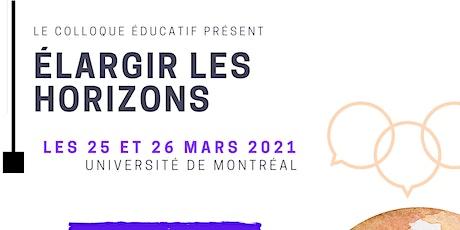 Colloque Éducatif Présent! 2021 billets