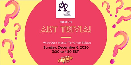 Art Trivia with Terrance Balazo from Another Round Trivia tickets