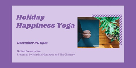 Holiday Happiness Yoga - ONLINE FUNDRAISER tickets