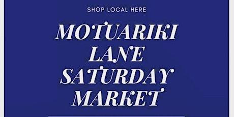 Motuariki Lane Saturday Market