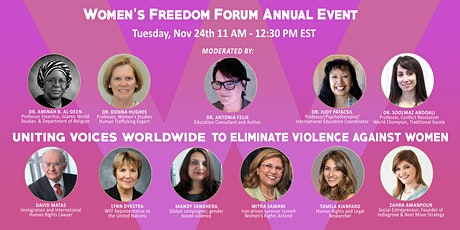 Uniting Voices Worldwide to Eliminate Violence Against Women 2020 tickets