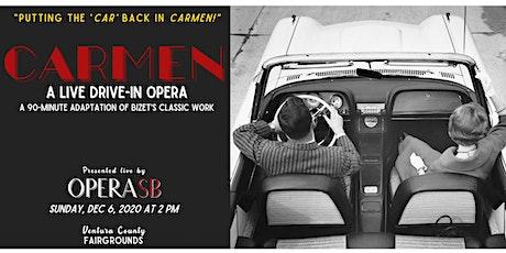 CARMEN - A LIVE, 90-MINUTE DRIVE-IN OPERA - OPERA SANTA BARBARA tickets
