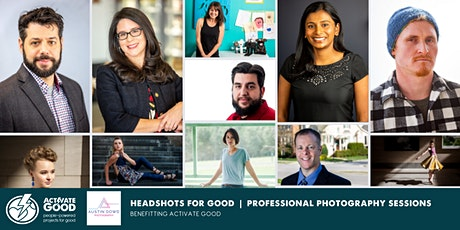 Headshots for Good: Photo Sessions benefitting Activate Good tickets