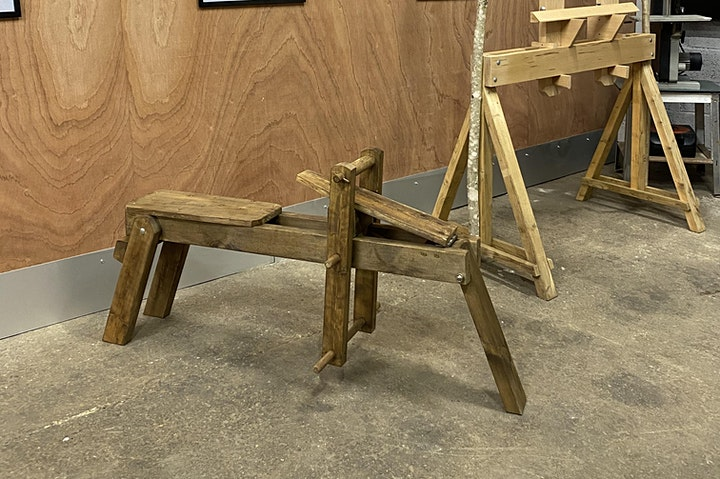 Make Your Own Flat Pack Shave Horse image