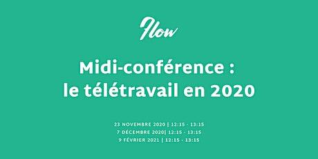 Midi-conférence : le télétravail en 2020 billets