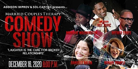 The Married Couples THERAPY Comedy Show (Munchie Washington) tickets