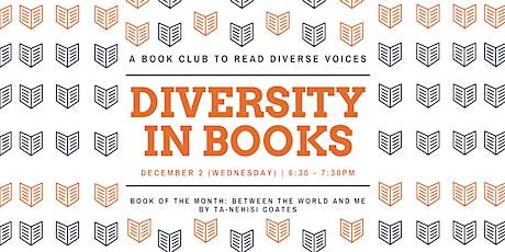 Diversity in Books: Book Club tickets