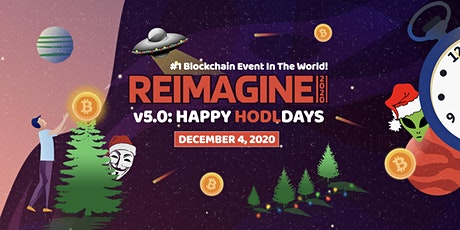 Happy HODLdays - FREE 72 Hour LIVE Global Blockchain Conference tickets