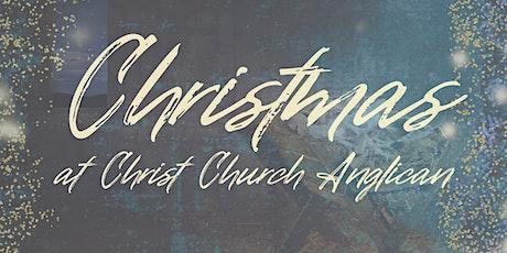 Christmas at Christ Church Anglican Mt Pleasant - 6pm Parish Hall Service tickets