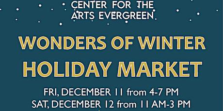 Wonders of Winter Holiday Market tickets