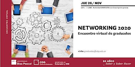Networking 2020 - Online entradas