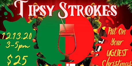 AE's Tipsy Strokes: Holiday Sip and Paint tickets