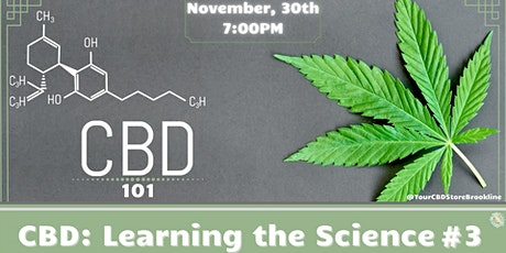 CBD: Learning the Science #3 tickets