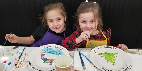 Christmas Plate Painting and Gingerbread Decorating tickets