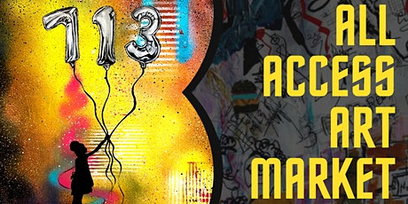 All Access Art Market: Finn Hall Houston (Dec) tickets