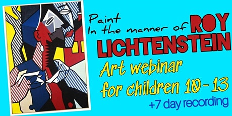 Roy Lichtenstein - Online Art Webinar for Children 10-13 tickets