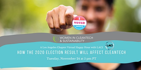 Women in Cleantech: How The 2020 Election Result Will Affect Cleantech tickets