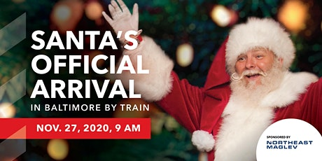 Santa's Official Arrival in Baltimore by Train tickets