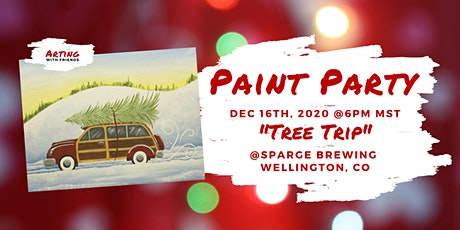 Dec 16 - Tree Trip Paint Party  @Sparge Brewing tickets