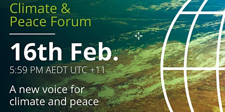 February Climate & Peace Forum tickets