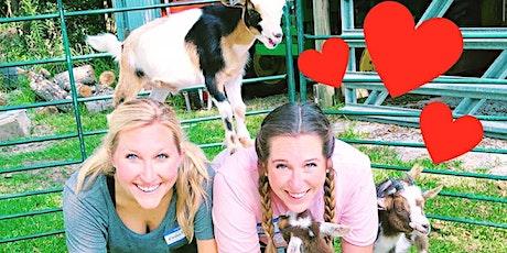Holida-a-ay Goat Yoga! - Sat, Dec 5 @ 10am tickets