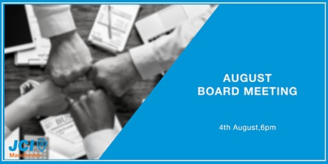 August Board Meeting billets
