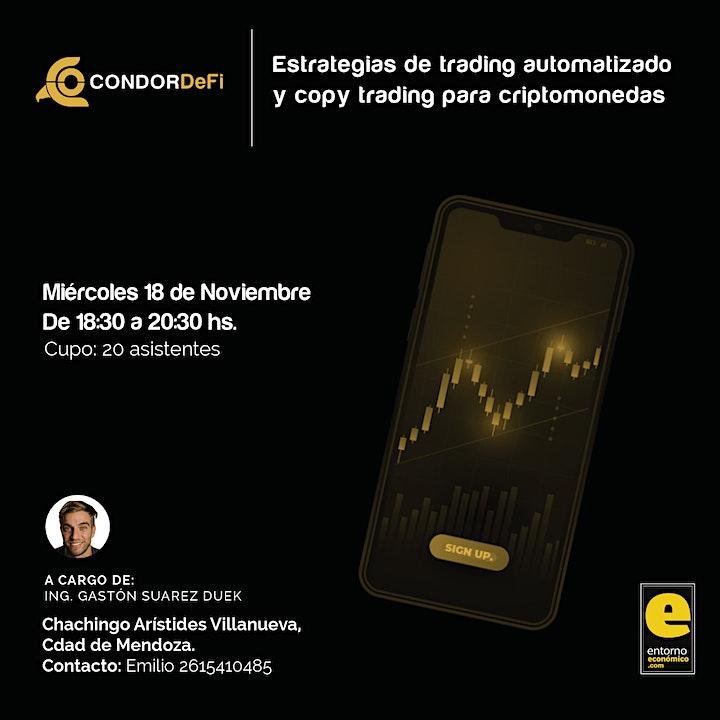 Imagen de CONDOR CRIPTO - Trading Automatizado + Copy Trading