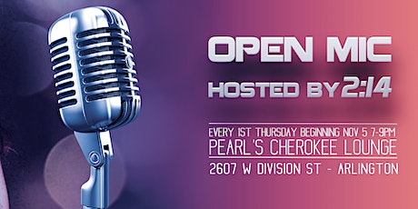 Open Mic - Hosted by 2:14 tickets