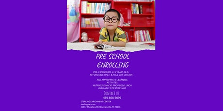 PreSchool Enrichment Program tickets