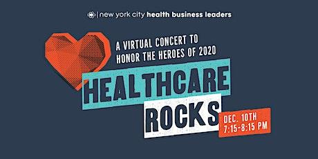 Healthcare Rocks! Virtual Benefit Concert tickets