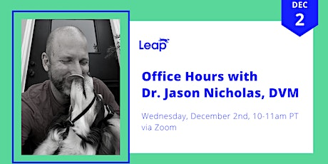 Office Hours with Dr. Jason Nicholas, DVM tickets