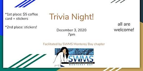 Monterey SWMS Virtual Trivia Night! tickets