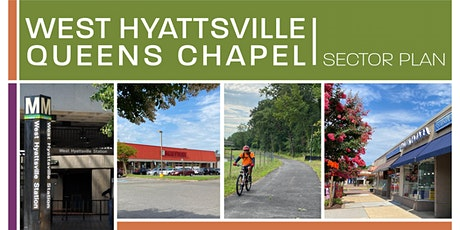 POSTPONED: Virtual Open House - West Hyattsville-Queens Chapel Sector Plan tickets