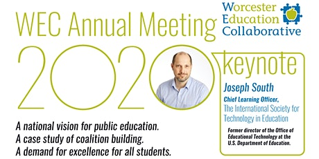 Worcester Education Collaborative's 11th Annual Meeting with Joseph South tickets