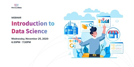 [Online Live] Introduction to Data Science tickets