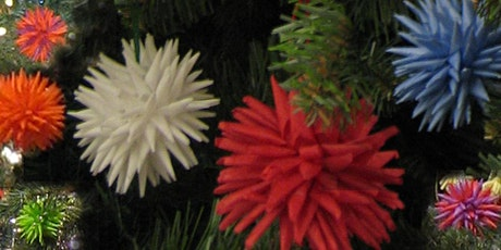 TRADITIONAL UKRAINIAN CHRISTMAS TREE ORNAMENTS (Virtual workshop 3 pm) tickets