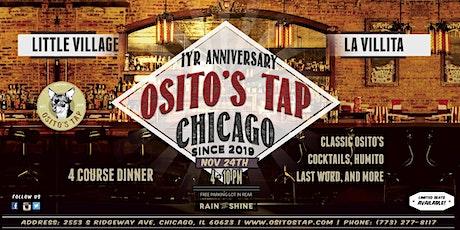Osito's 1yr Anniversary Dinner tickets