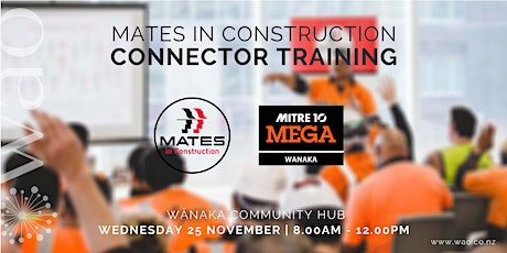 MATES in Construction - Connector Workshop tickets