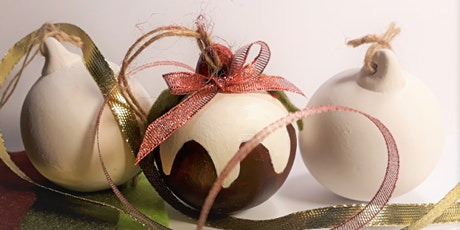 Christmas Bauble Crafting Workshop with live music tickets