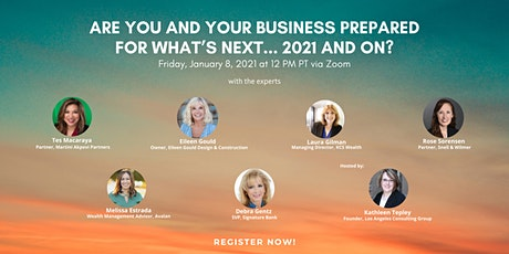 Are You and Your Business Prepared for What's Next… 2021 and Beyond? tickets